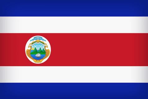 Costa Rica Company Flag