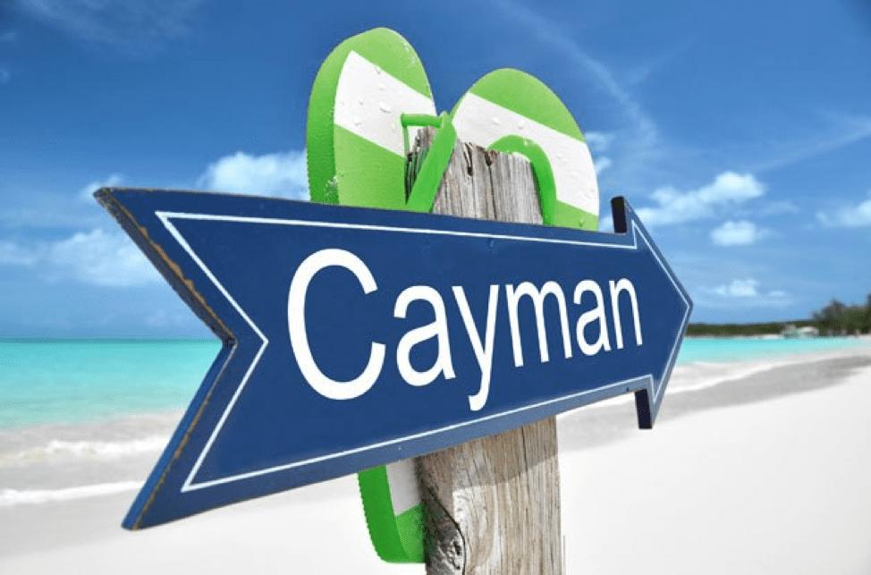 Cayman Beach Sign